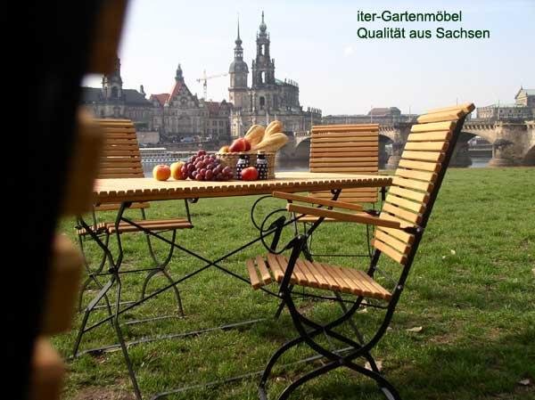 meble ogrodowe z drewna Iter - producent