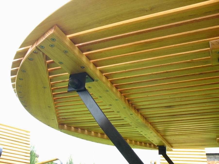 IIER - meble ogrodowe z akacji - kliknij, aby powiększyć