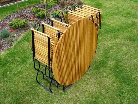 ITER- meble ogrodowe z akacji  - kliknij aby powiększyć