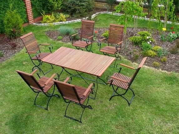 Meble ogrodowe sprzedaż Iter - z akacji parzonej