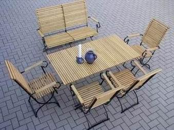4 krzesła , 1 stół 140, 1ławka  - kliknij, aby otworzyć w nowym oknie