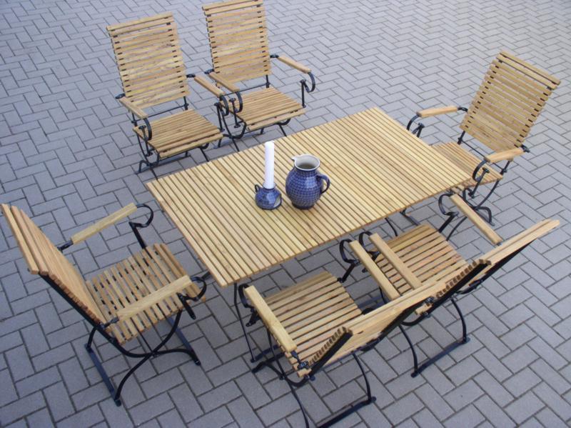 6 krzeseł , 1 stół 140  - kliknij, aby otworzyć w nowym oknie